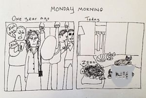 on Monday morning