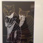 Three Striped Cats